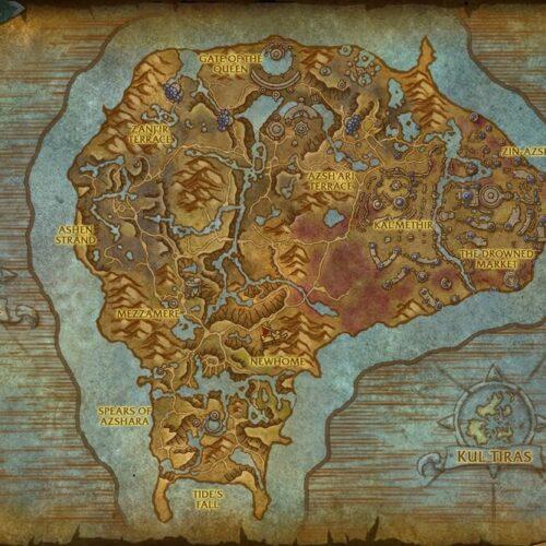 World of Warcraft: Jak dostać się do Nazjatar
